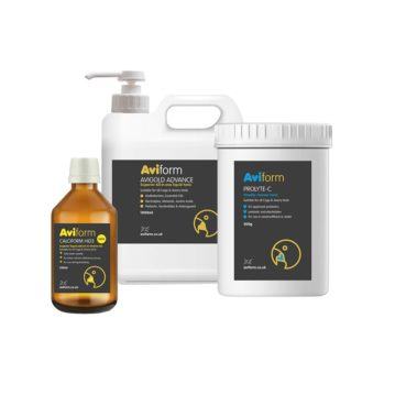 Aviform cage and aviary vitality supplement bundle