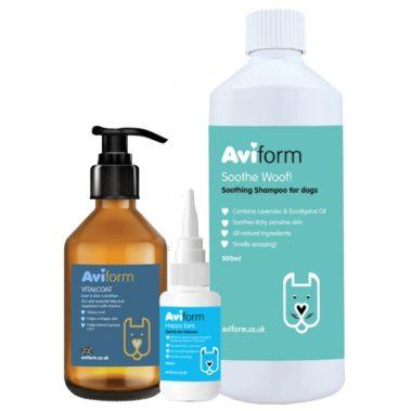 Aviform Dermo Doggy Bundle Coat & Skin