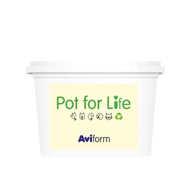 Aviform reusable pot for life