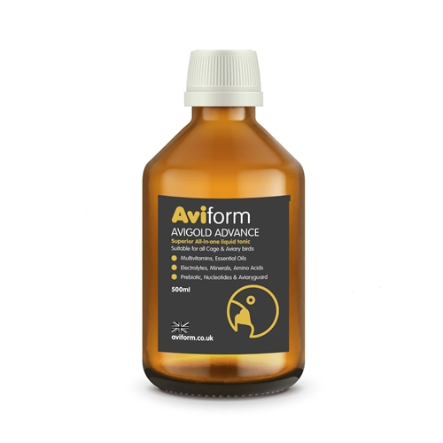 Aviform Avigold Advance Cage and aviary tonic