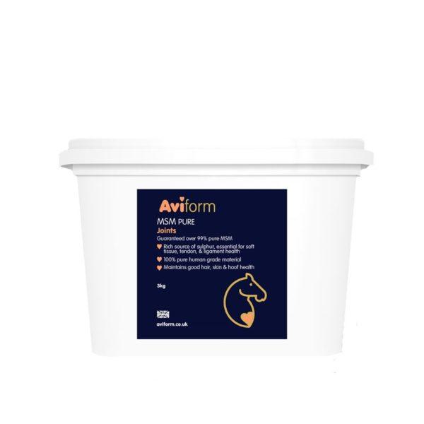 Aviform MSM Pure Equine joint supplement