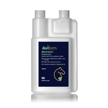 Aviform Breatheasy Equine respiratory supplement