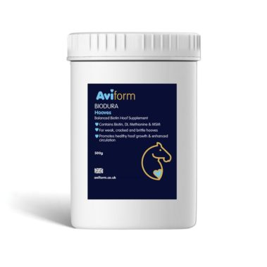 Aviform Biodura Equine hoof supplement