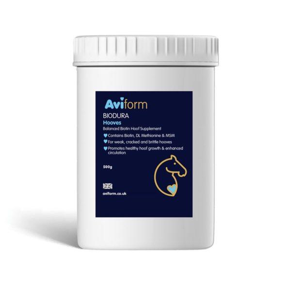Aviform Biodura Equine hoof supplement
