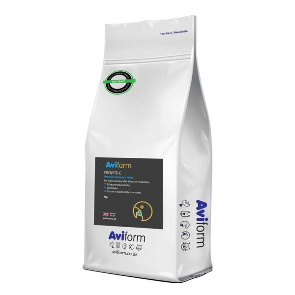 Aviform Prolyte-C cage and aviary recovery tonic