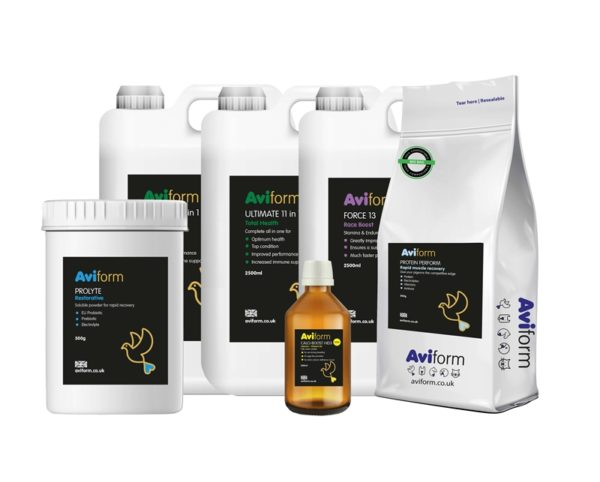 Aviform Racing Pigeon Hyper Pack Supplements
