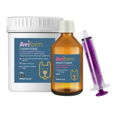 Aviform Dog Digestion Pack with TummyTonic and MontyTummy