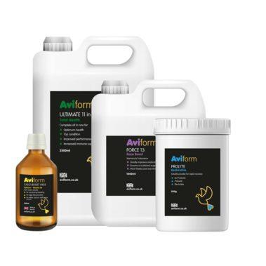 Aviform Racing Pigeon Power Pack Supplements
