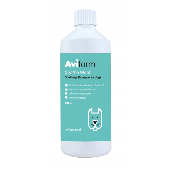 Aviform Soothe Woof Soothing Shampoo for Dogs
