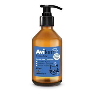 Aviform Vitalcoat Cat Coat and Skin Conditioner